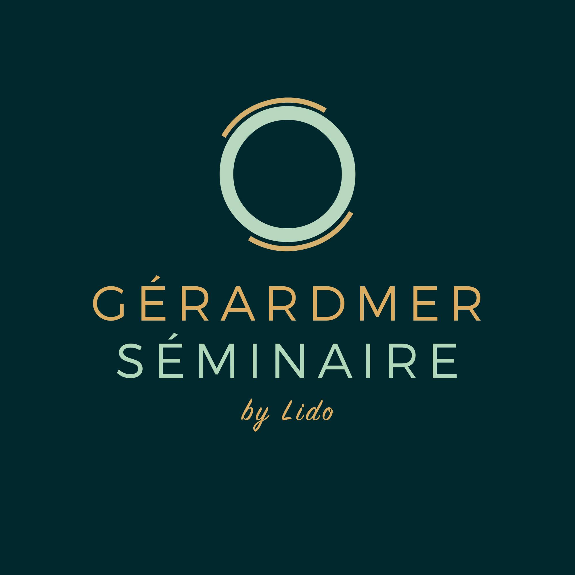 Logo Gérardmer Séminaire by Lido