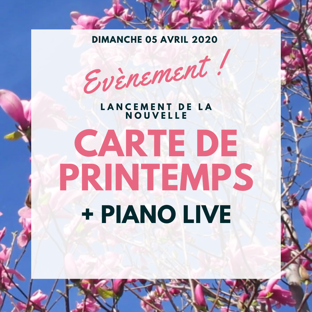 LANCEMENT CARTE PRINTEMPS
