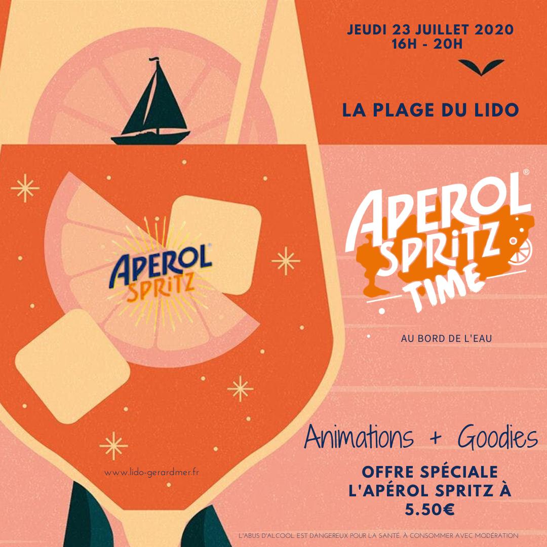 Affiche Aperol Spritz Time